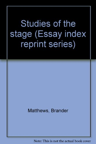 Studies of the Stage: Matthews, Brander