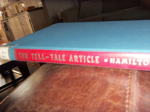 The tell-tale article;: A critical approach to modern poetry (Essay index reprint series): Hamilton...