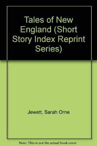9780836933628: Tales of New England (Short Story Index Reprint Series)