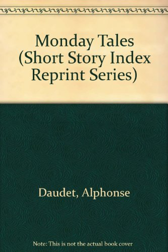 9780836933833: Monday Tales (Short Story Index Reprint Series)