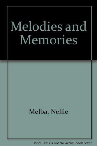 9780836951929: Melodies and Memories