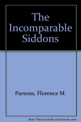 9780836951936: Incomparable Siddons