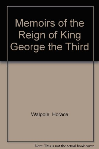 9780836954890: Memoirs of the Reign of King George the Third