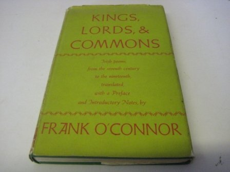 Kings, Lords and Commons: O'Connor, F.
