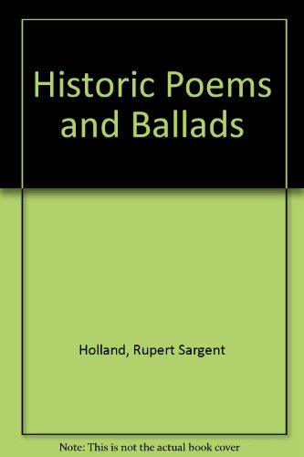 9780836961478: Historic Poems and Ballads (Granger index reprint series)