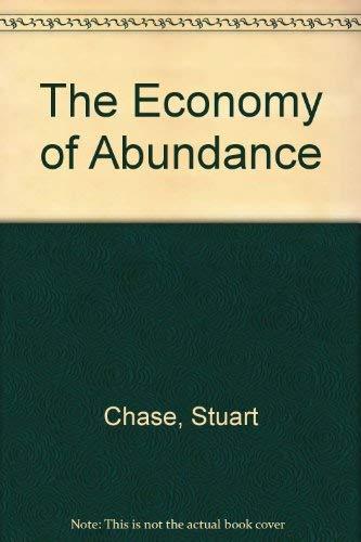 9780836967135: The Economy of Abundance