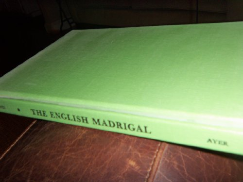 9780836969290: The English madrigal
