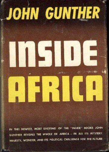 Inside Africa: John Gunther