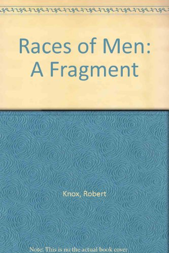 9780836986174: Races of Men: A Fragment