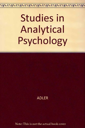9780837100012: Studies in Analytical Psychology