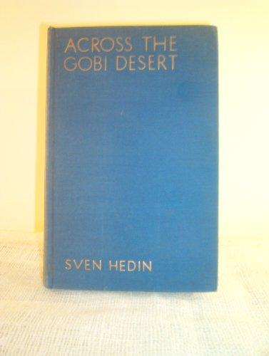 9780837101033: Across the Gobi Desert