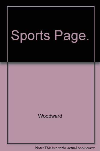 9780837107622: Sports Page.