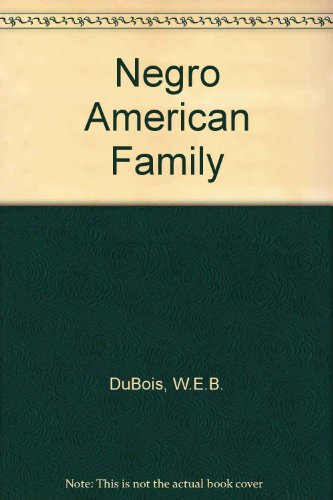 9780837113425: The Negro American Family
