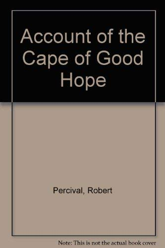 An Account of the Cape of Good Hope