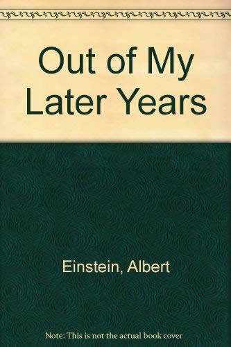 9780837120867: Out of My Later Years
