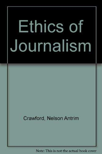 9780837121550: Ethics of Journalism