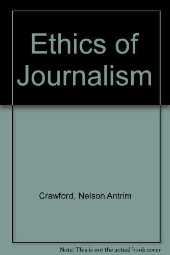 9780837121550: Ethics of Journalism