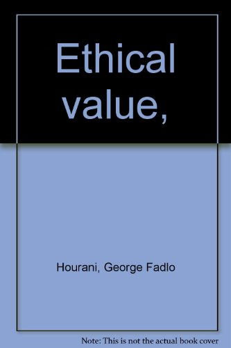 9780837122076: Ethical value,