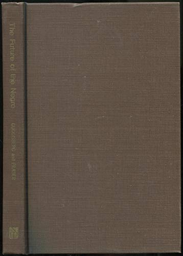 9780837124278: The future of the Negro;: Some chapters in the development of a race,