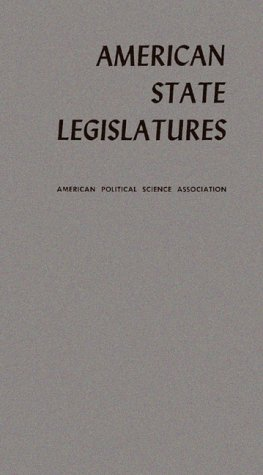 9780837124346: American State Legislatures: Report