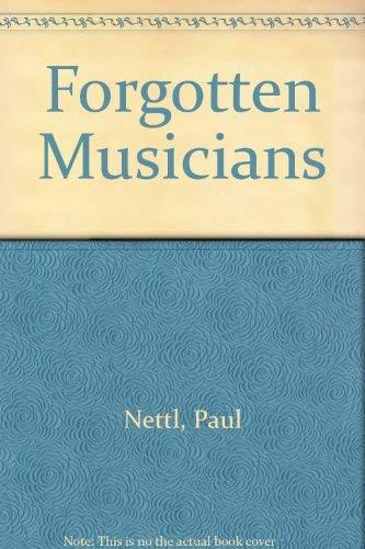 9780837124636: Forgotten Musicians