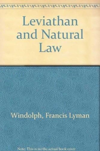 9780837125206: Leviathan and Natural Law.