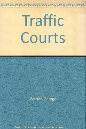 9780837125688: Traffic courts (The Judicial administration series)