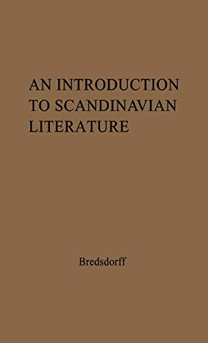 9780837128498: An Introduction to Scandinavian Literature: from the Earliest Time to Our Day