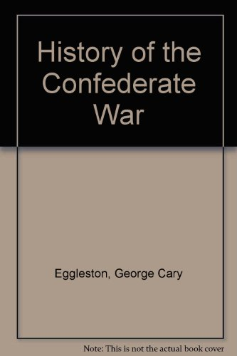 9780837129266: History of the Confederate War