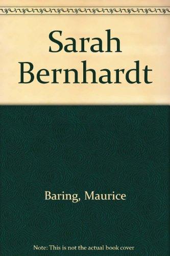 9780837130187: Sarah Bernhardt