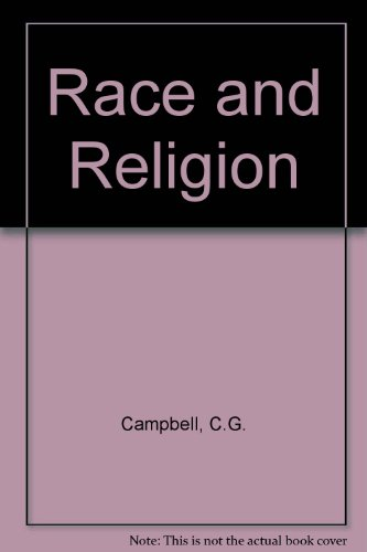 9780837132624: Race and Religion
