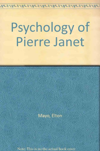 9780837133621: Psychology of Pierre Janet