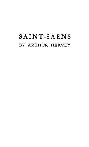 9780837142364: Saint-Saens: