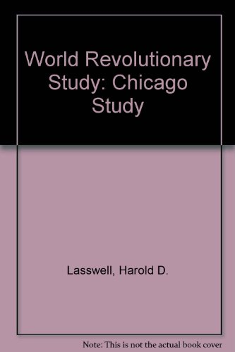 9780837145211: World Revolutionary Study: Chicago Study