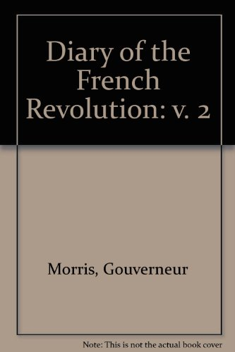 9780837145303: Diary of the French Revolution.