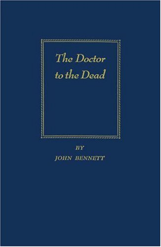 9780837151847: The Doctor to the Dead: Grotesque Legends & Folk Tales of Old Charleston
