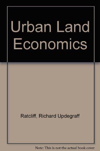 9780837151953: Urban Land Economics