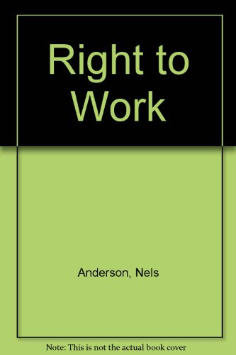 9780837152646: Right to Work