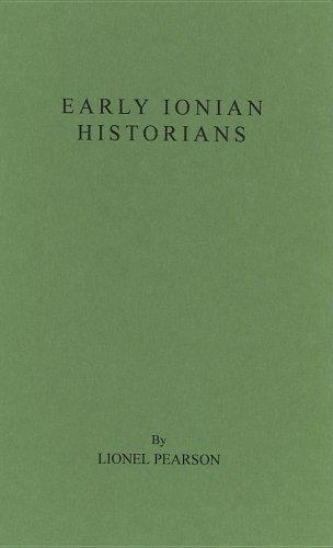 9780837153148: Early Ionian Historians.