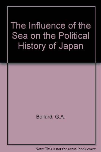 9780837154350: The Influence of the Sea on the Political History of Japan.