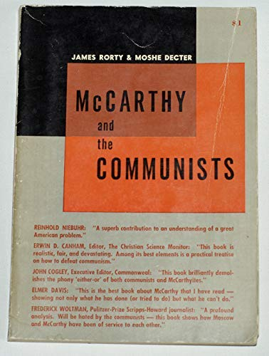 9780837156361: McCarthy and the Communists