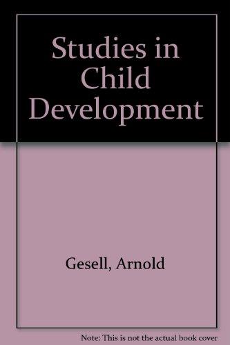 9780837156903: Studies in Child Development