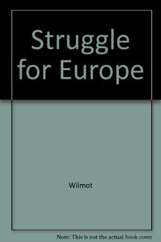 9780837157115: Struggle for Europe