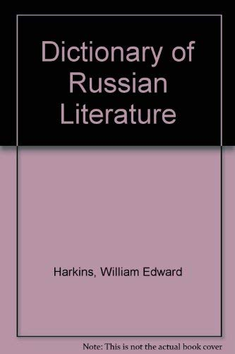 9780837157511: Dictionary of Russian Literature.