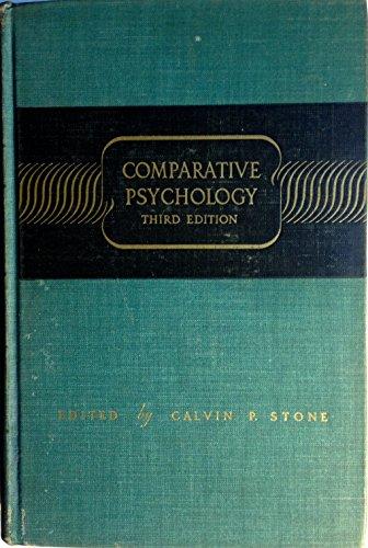 9780837160184: Comparative Psychology