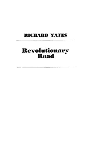 9780837162218: Revolutionary Road