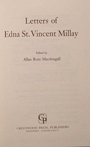 Letters: Millay, Edna St. Vincent