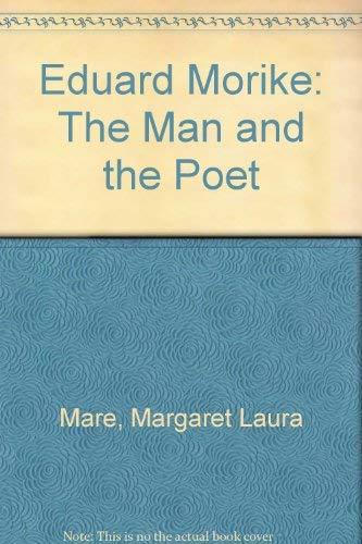 9780837165387: Eduard Morike: The Man and the Poet