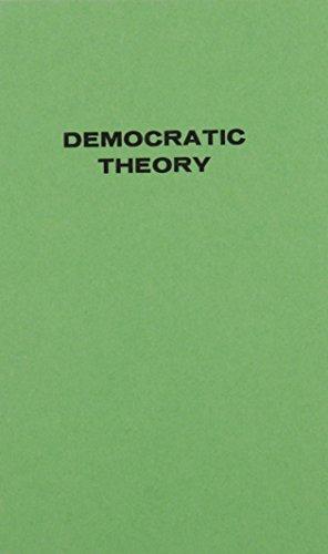 9780837165455: Democratic Theory