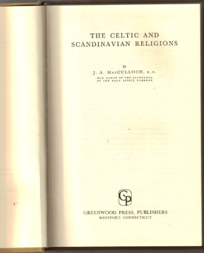 9780837167053: The Celtic and Scandinavian Religions